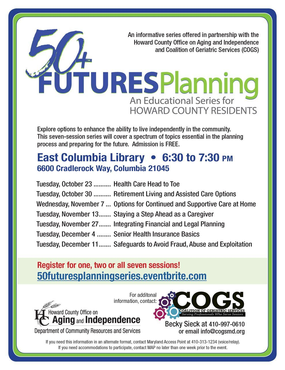 Coalition Of Geriatric Services 50 Futures Planning Series Electromagnetic Relay Basics Spaces Are Limited For More Information Regarding Specific Dates And Events To Register Check Out Our Eventbrite By Clicking Here